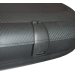 Cutie portbagaj Carbon Look 320L, Neagra, 131x77x34