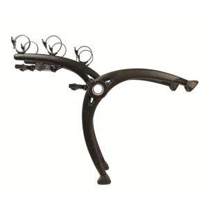 Suport biciclete Saris Bones 3 Black pentru 3 biciclete cu prindere pe haion/portbagaj