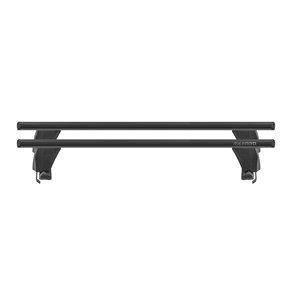 Bare transversale Menabo Delta Black pentru Seat Leon II (1P), 4 usi, model 2009-2013